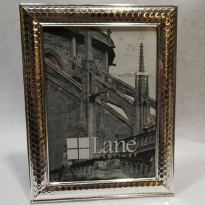 Lane Silver Tone 5x7 Picture Frame New
